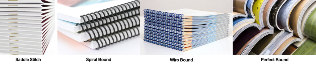 Booklet Binding Options