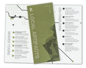 Folded Flyer Example