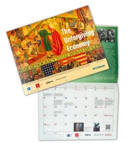 Custom calendar printing by Creative Influence