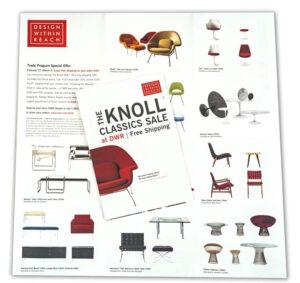 Knoll Chair Catalog