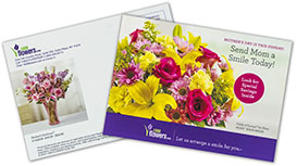 Postcards Direct Mail Example