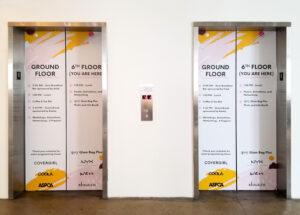 Elevator Door Graphics